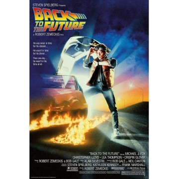 BACK TO THE FUTURE - POSTER...