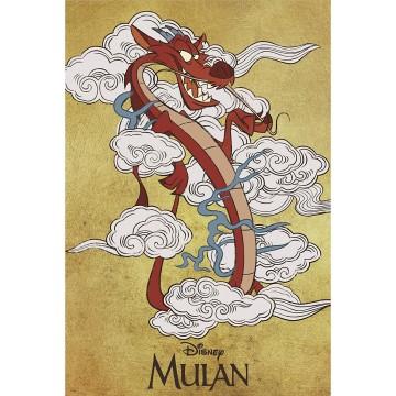 DISNEY - POSTER MULAN MUSHU